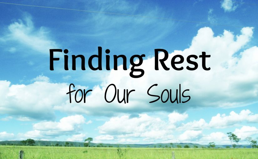 """Soul vs. Physical Rest"""