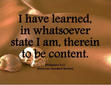 The Paradox of Holy Contentment