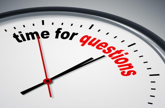 """""""Questions, Questions, Questions"""""""